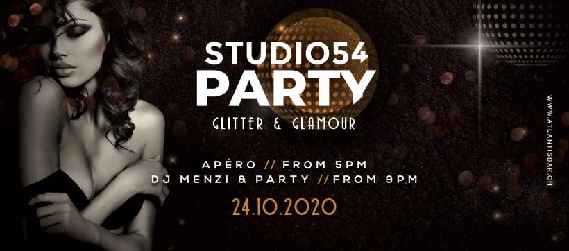 Studio 54 Party Atlantis Bar Pfäffikon SZ